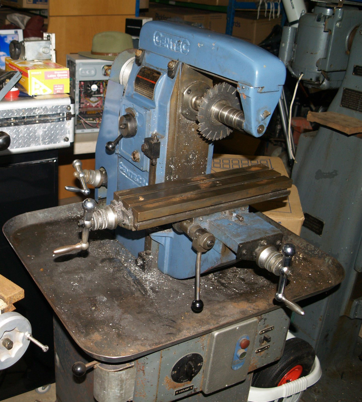 Used Milling Machines Ebay >> Centec 2a Milling Machine Ebay Other Machine Tools Milling