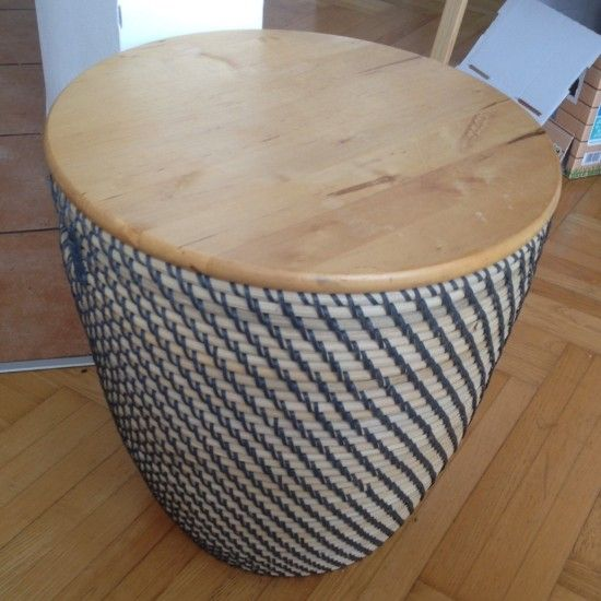 Make A Side Table With Storage In The Blink Of An Eye Ikea Ers S - Side Table With Storage Ikea