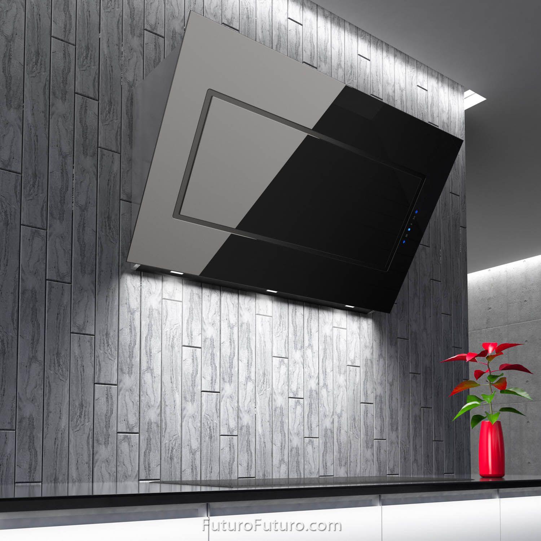 48 Quest Black Wall Range Hood The Quest Series Range Hoods By Futuro Futuro Reflect The Latest Trends In Contemporary Black Walls Range Hood Glass Range Hood