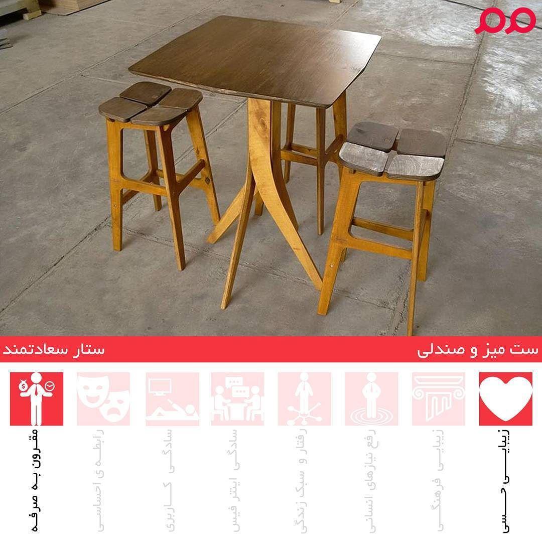 قیمت میز صندلی چوبی