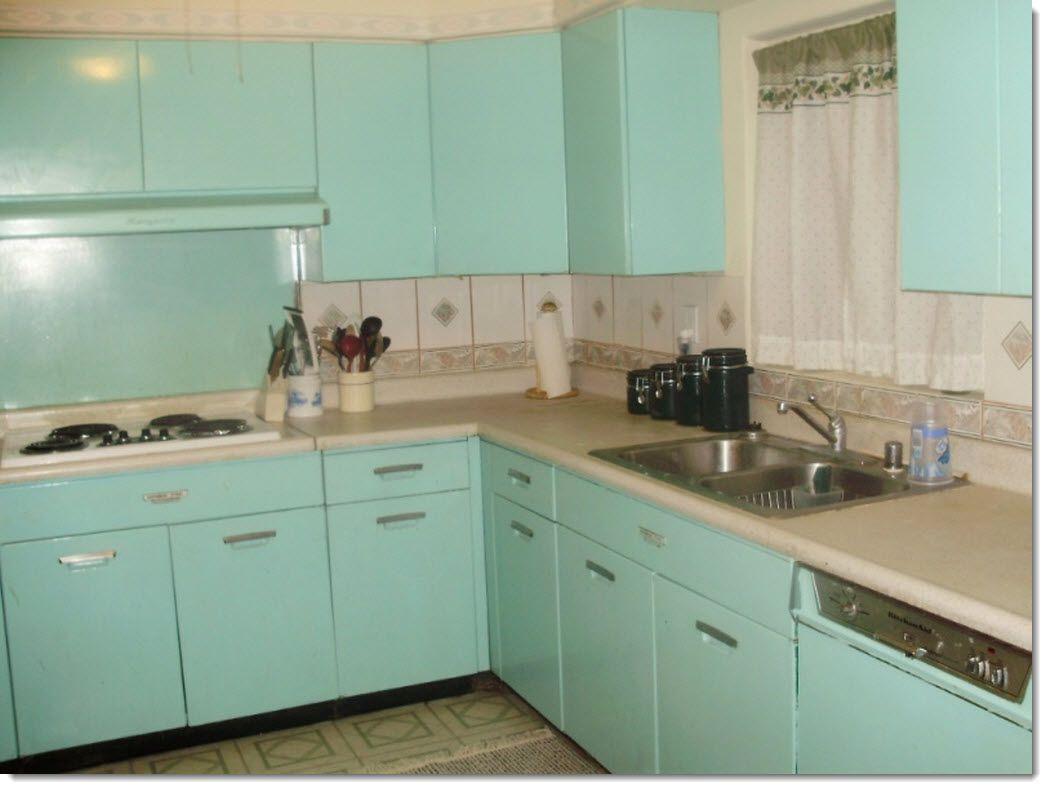 Database Error Metal Kitchen Cabinets Steel Kitchen Cabinets Retro Kitchen