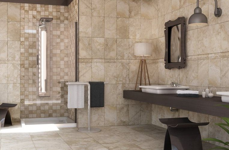 Austin 10 X 16 Noce Wall Tile Wall Tiles Tiles Bathroom Wall