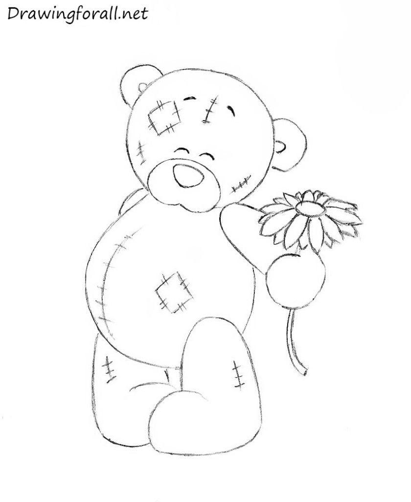 Teddy Bear Drawing Teddy Bear Drawing Teddy Drawing Teddy Bear Sketch
