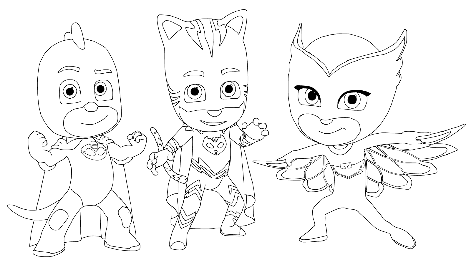 Top 30 Pj Masks Coloring Pages Pj Masks Coloring Pages Mask