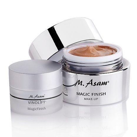 M Asam Magic Finish Make Up With Bonus Hsn Beauty Skin Care How To Make