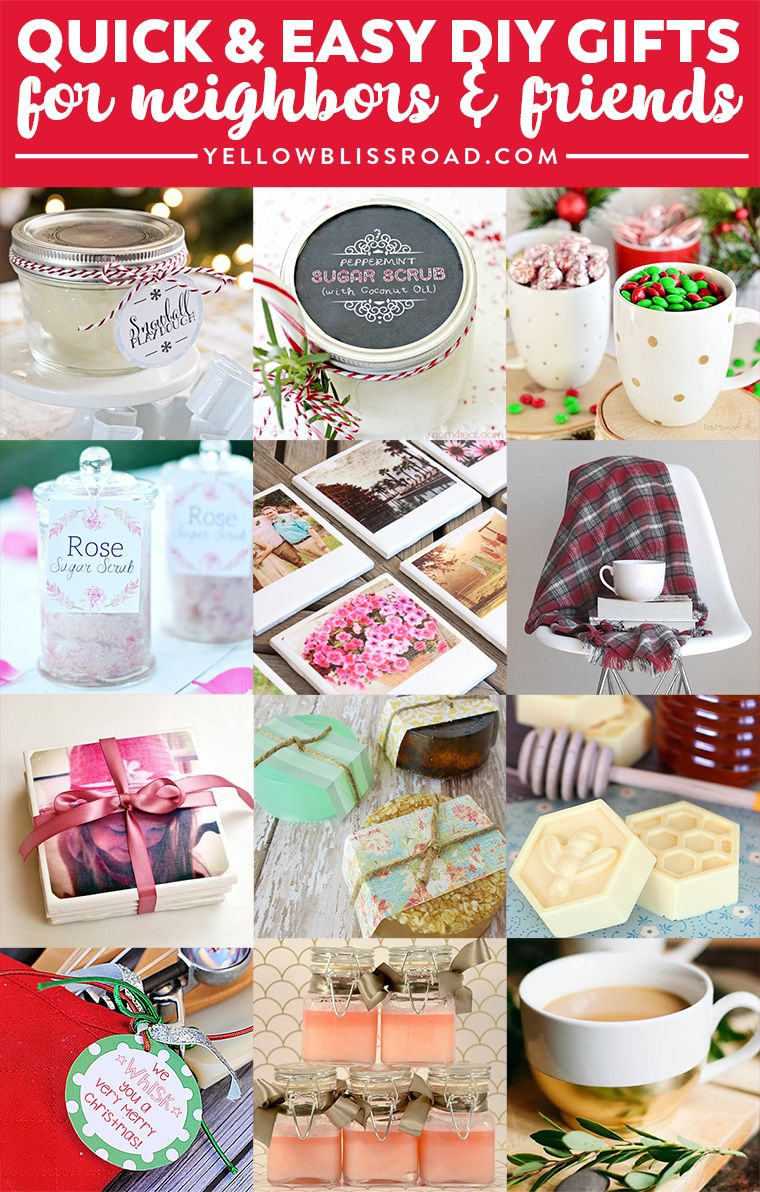 Budget Gifts for Friends & Neighbors Inexpensive