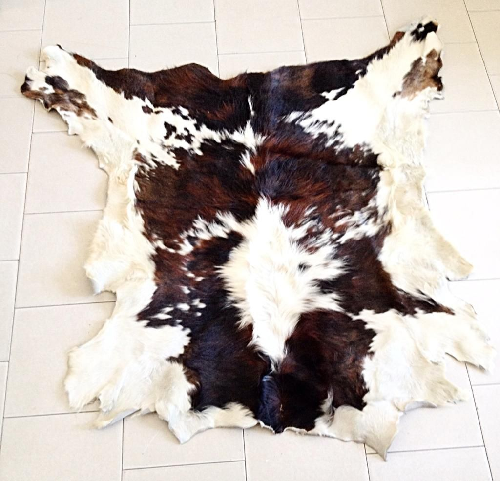 Tappeto pelle mucca cow carpet Vintage, Tappeti, Mucca