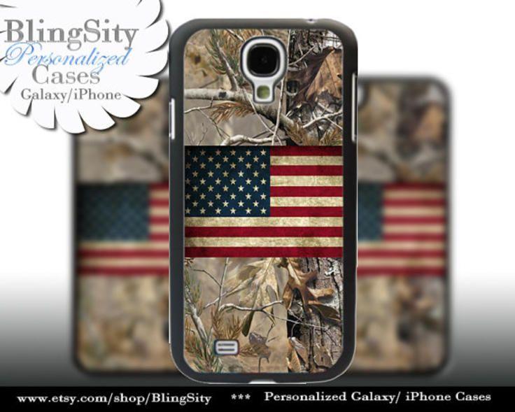 Camo usa distressed flag galaxy s4 case american s5