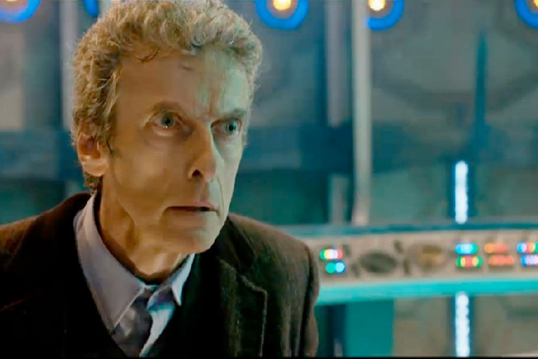 Peter Capaldi asks Time Lord sidekick Clara to steer