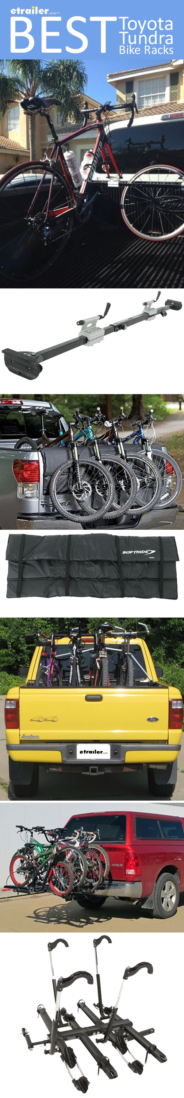Find The Best Bike Rack For Your Toyota Tundra Truck Bed Mounted