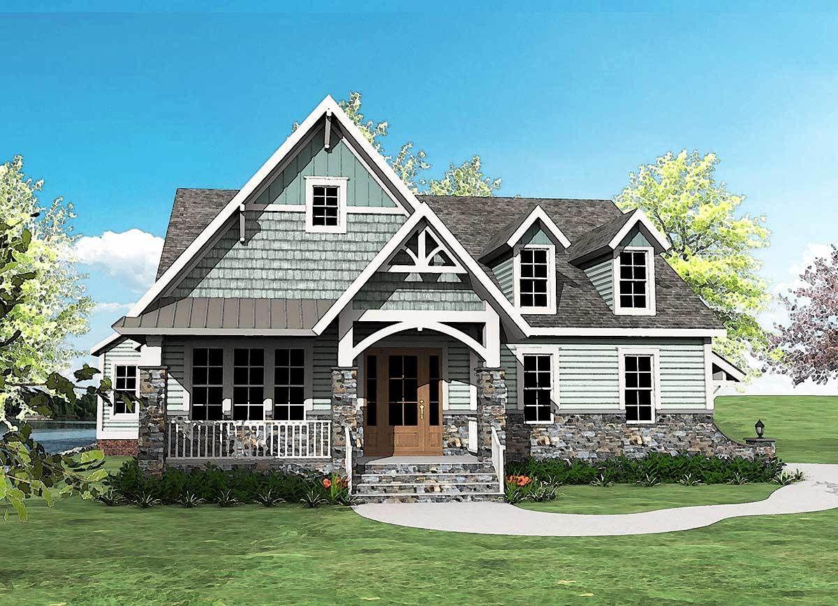 Plan 500012VV Super Good Looking Craftsman House Plan