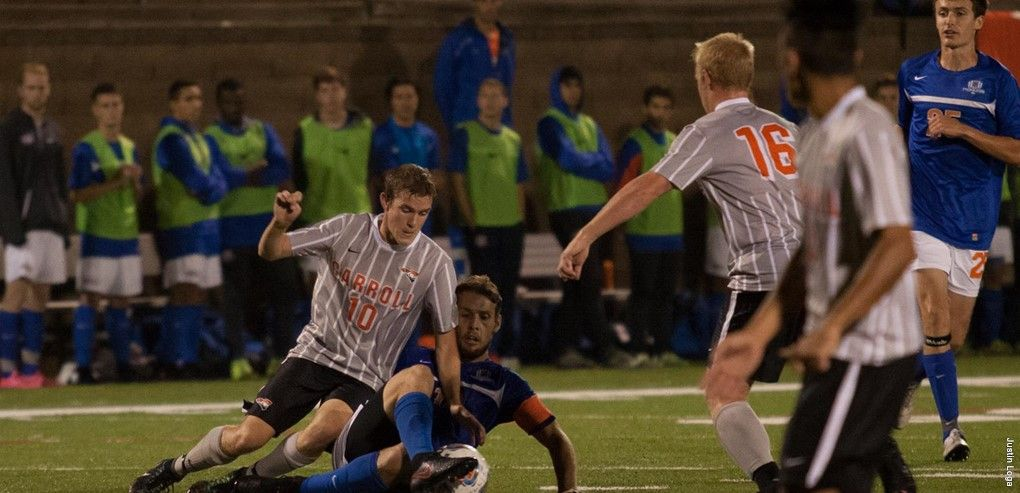 Congrats to carroll university mens soccer on their home