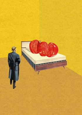 """Murder by Lenny CollageArt 