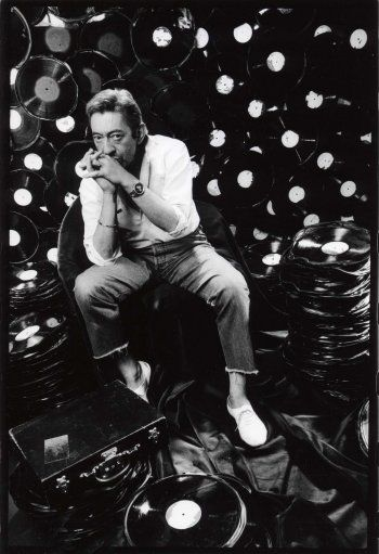 Serge Gainsbourg by Pierre Terrasson, 1980s