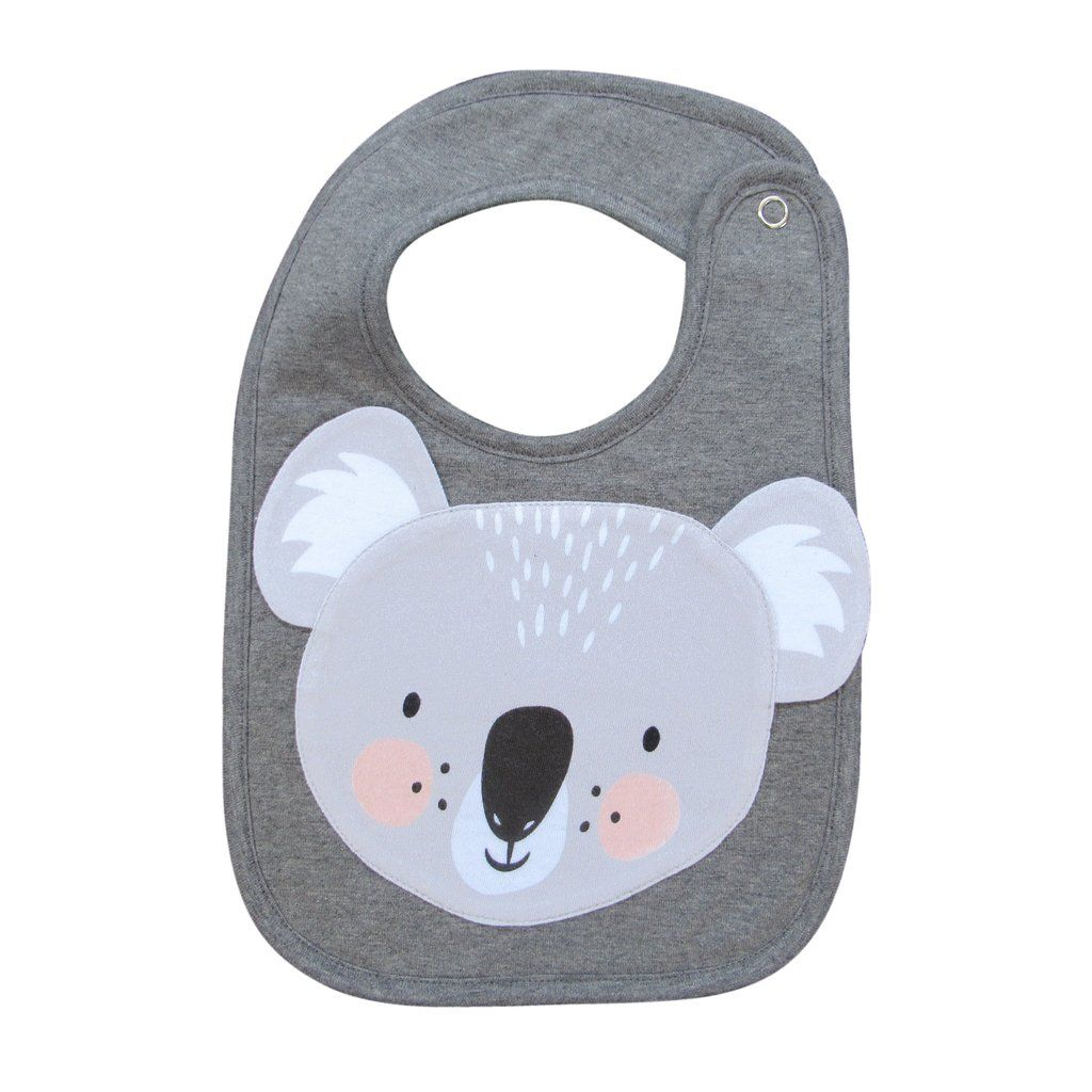 Mister Fly Koala Bib Koala Childrens Accessories Polar Bear Face