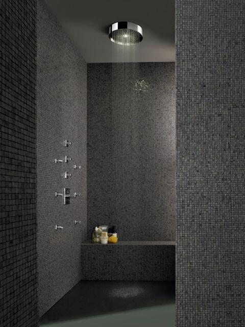 Soffione Xl Showerhead Designed For Zucchetti Palomba Bathroom Design Mosaikfliesen Badezimmerideen Bad Einrichten