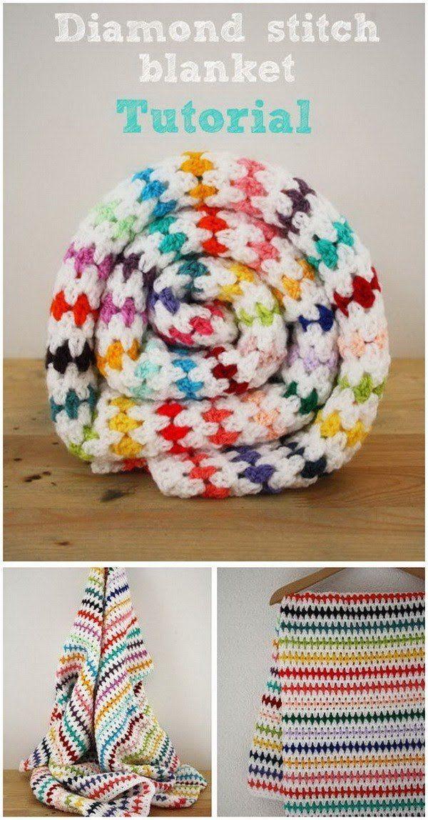 Fantástico Crochet Patrones Libres Afganos Para Principiantes Adorno ...