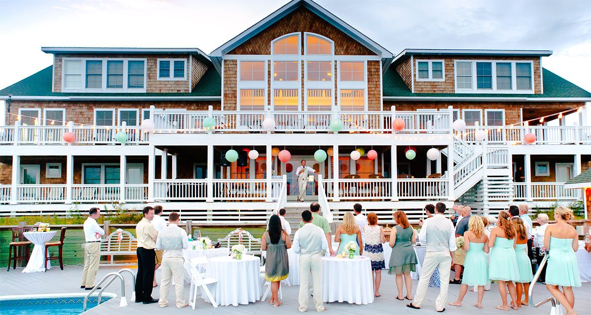 Beach House Rentals For Weddings And Special Events Outer Banks Nc Beach House Rental Outer Banks Beach House Outer Banks Wedding