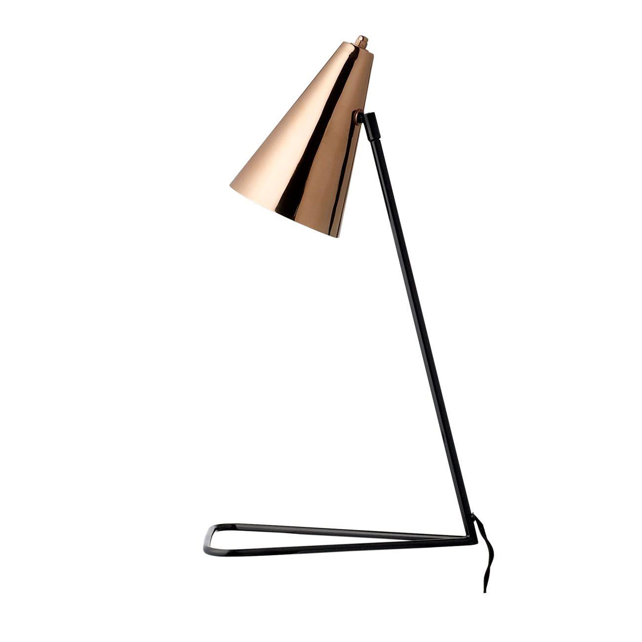 Tischlampe cup lamp schwarz home tischlampen for Dekoration wohnzimmer kupfer