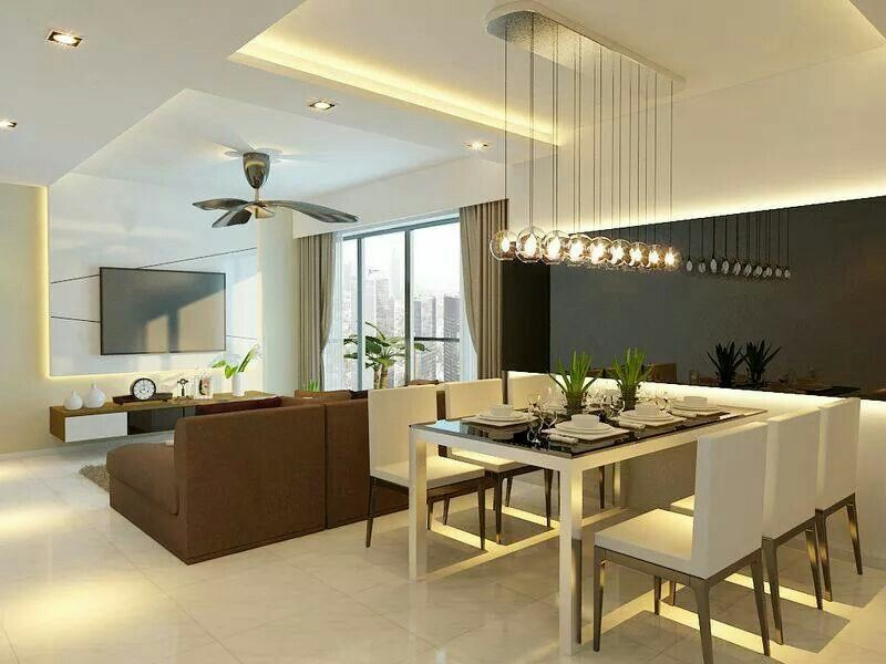 Neutral Living N Dining Rezt N Relax Living Room Designs Home Interior