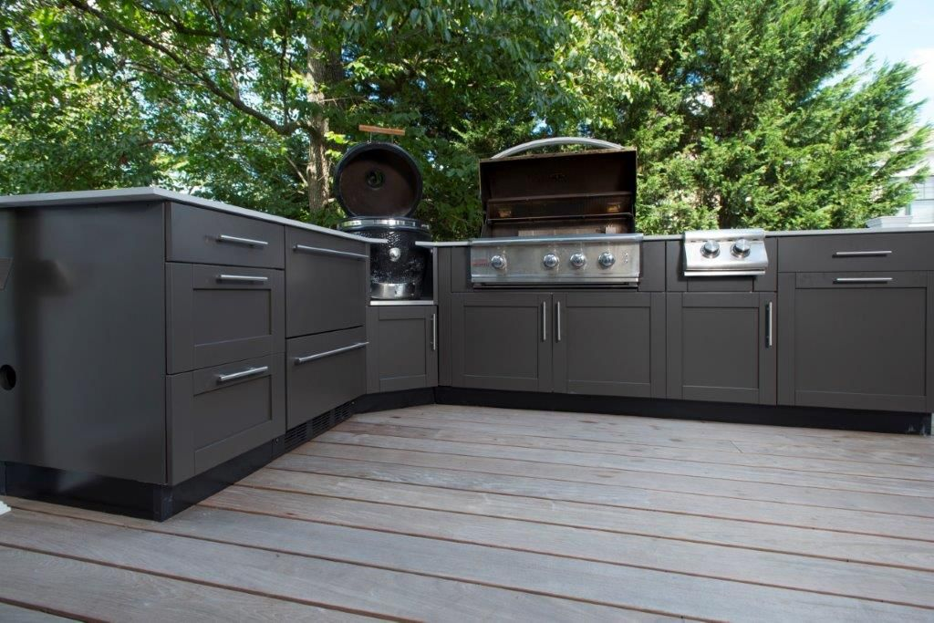 Danver Outdoor Kitchens Rooster Kitchen Decor Where To Purchase Custom Stainless Steel Cabinets By Companies Like Can Be Bought