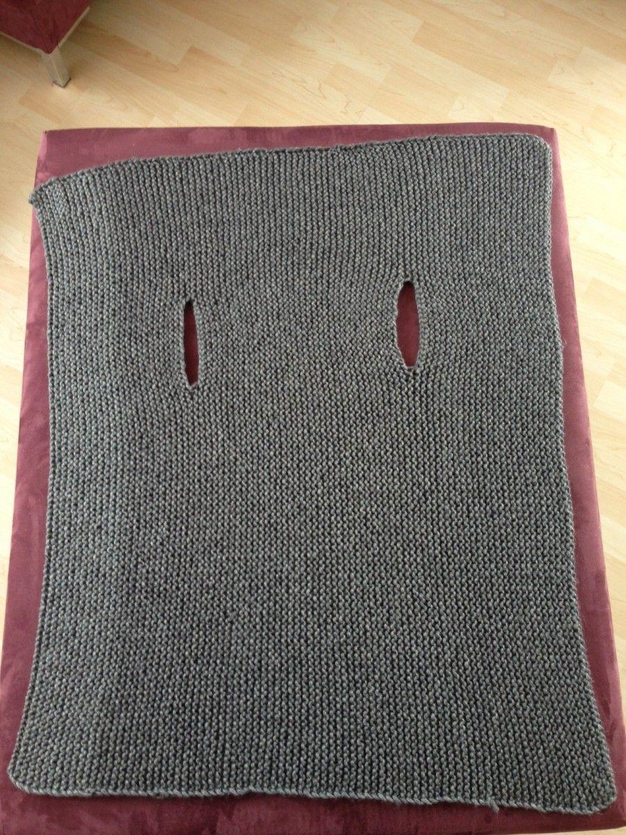 Crafting: eine moderne Weste stricken | Pinterest | Weste stricken ...