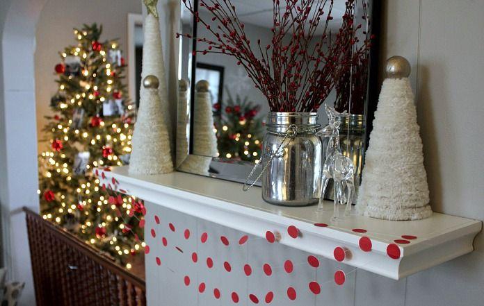 Office Supply Christmas Decor Hacks - The Creek Line House winter