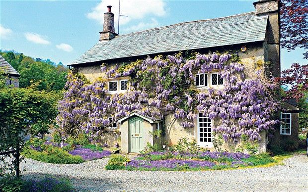 Top 10 Houses Covered In Ivy, Wisteria And Greenery