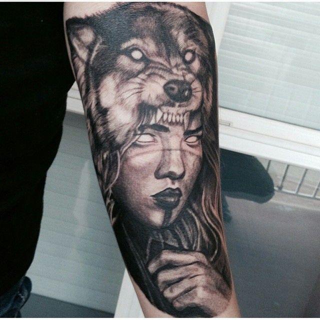 Wolf Headdress Tattoo: Inkedmag's Photo On Instagram