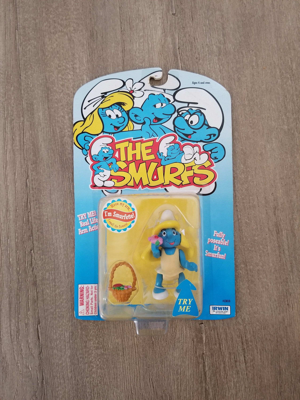 The Smurfs Vintage Smurf Figurines Rare Smurfs Collectibles Smurf