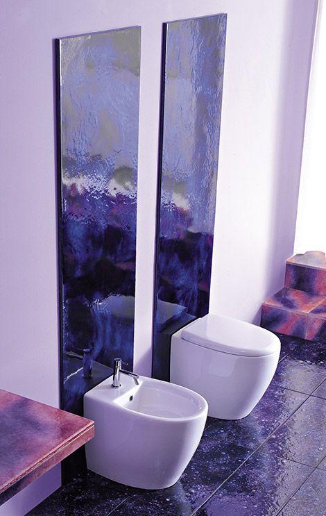 Franco Pecchioli Ceramica.Purple Bathrooms And Purple Bathroom Ideas Designs By