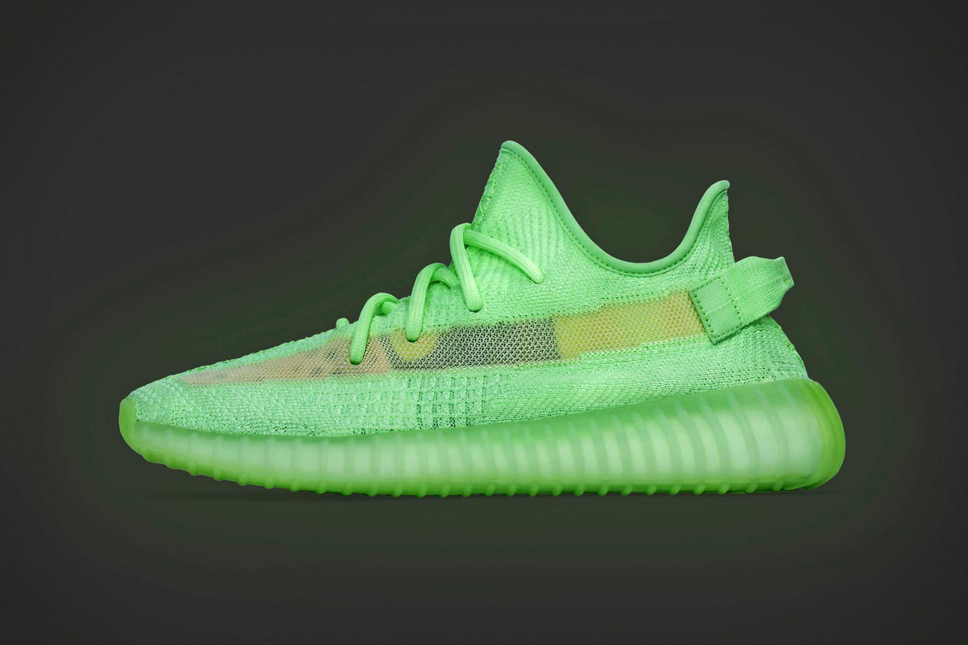 Adidas X Kanye West Yeezy Boost 350 V2 Glow Sneakers Yeezy Yeezy Boost Adidas Yeezy Boost
