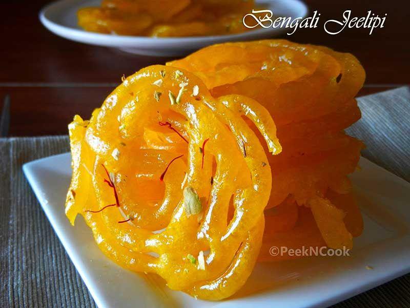 Bengali jeelipi or jalebi recipe indian sweets snacks beverage food bengali jeelipi or jalebi recipe forumfinder Image collections