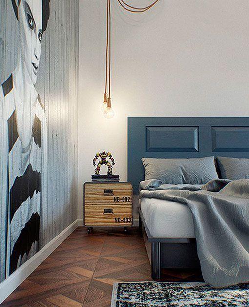 Integrar espacios tabiques de cristal Apartment Pinterest - departamento de soltero moderno pequeo