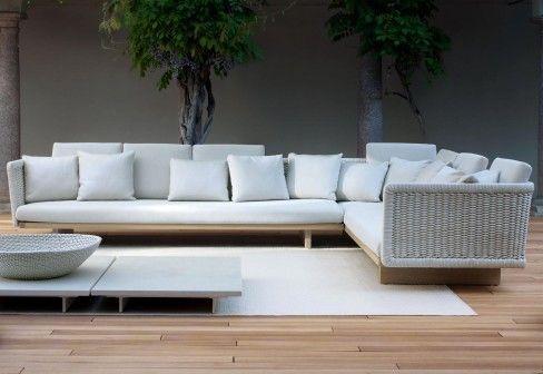 Brand: Paola Lenti Model: Move #designselect #sofa #paolalenti |  Tienerkamers | Pinterest | Exterior