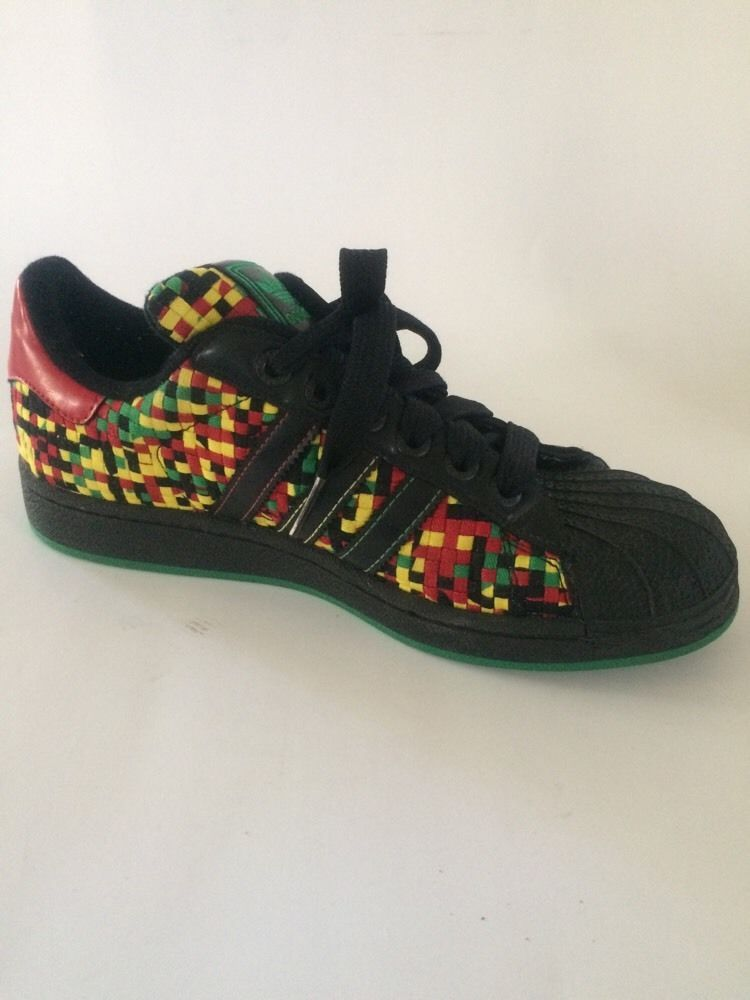 adidas superstar rasta zapatos