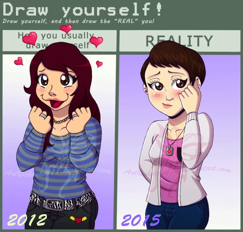 Old vs New meme by on DeviantArt