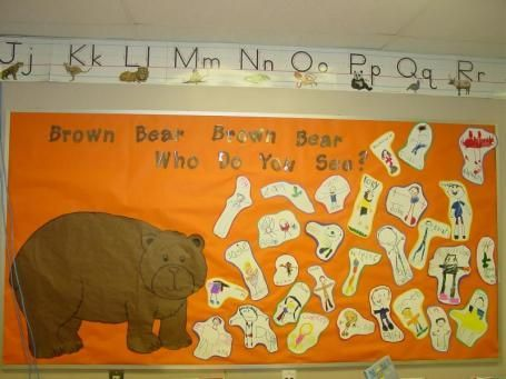 Brown Bear Brown Bear What Do You See Classroom Display Google