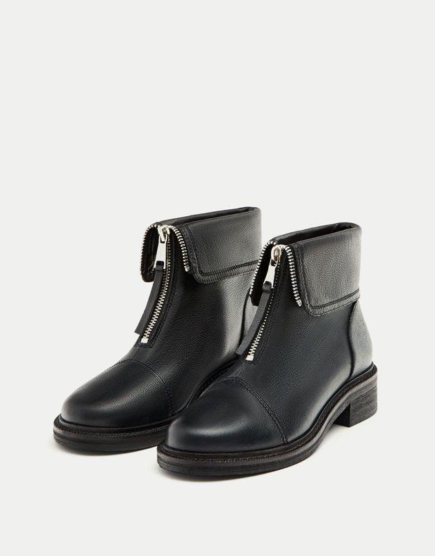 Chaussures à fermeture éclair Fashion femme JfQoLk