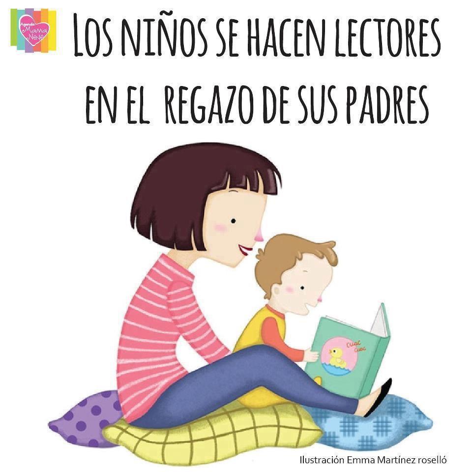 Pin De Biblioteca Escolar Bibliotucc En Frases Molonas Ninos Leyendo Frases De Educacion Animacion A La Lectura
