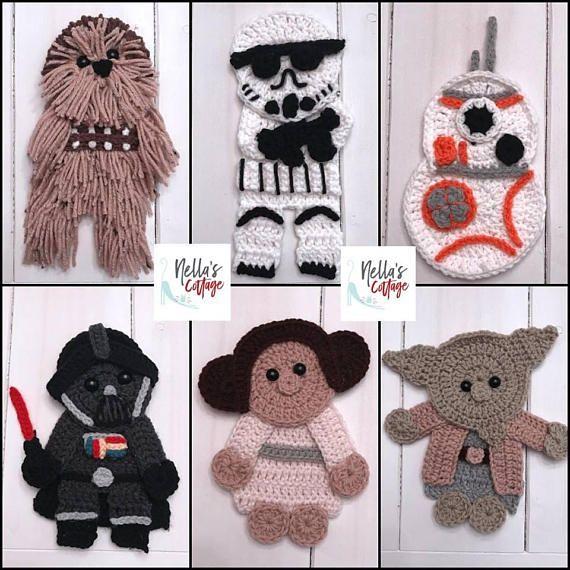 Crochet Pattern - INSTANT PDF DOWNLOAD - Crochet Appliques ...