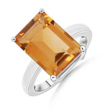 Angara Cocktail Citrine Ring in Yellow Gold VXzUPx
