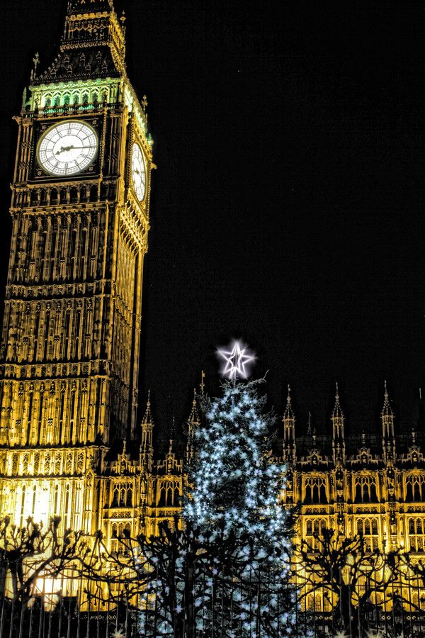 Christmas in Westminster, London