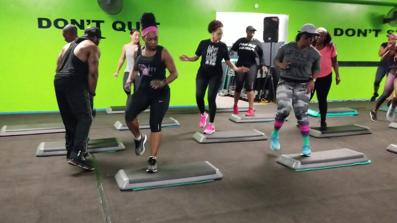 Xtreme hip hop with phil bood up x style step workout