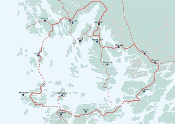 Saariston Rengastie Finland Future Travel Archipelago
