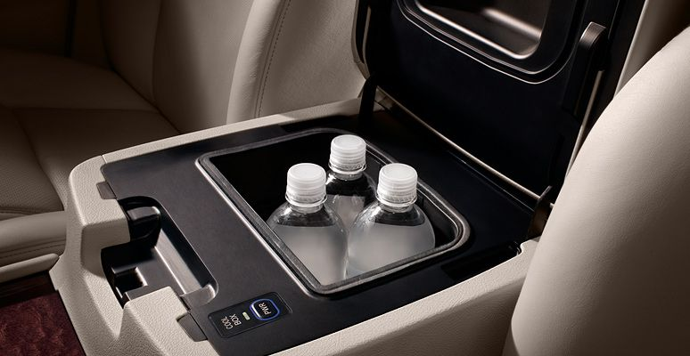 lx shown in parchment leather trim with available center console mounted cool box lexus dealership lexus dealer lexus center console mounted cool box