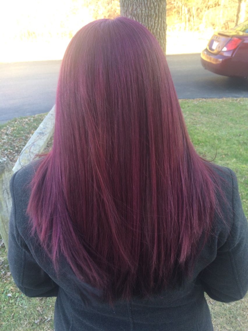 new fun hair color age beautiful dark plum brown 4v hair pinterest hair coloring awesome. Black Bedroom Furniture Sets. Home Design Ideas