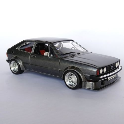 1 18 vw scirocco mk1 gti one off group 2 wide body bbs for Garage volkswagen 33