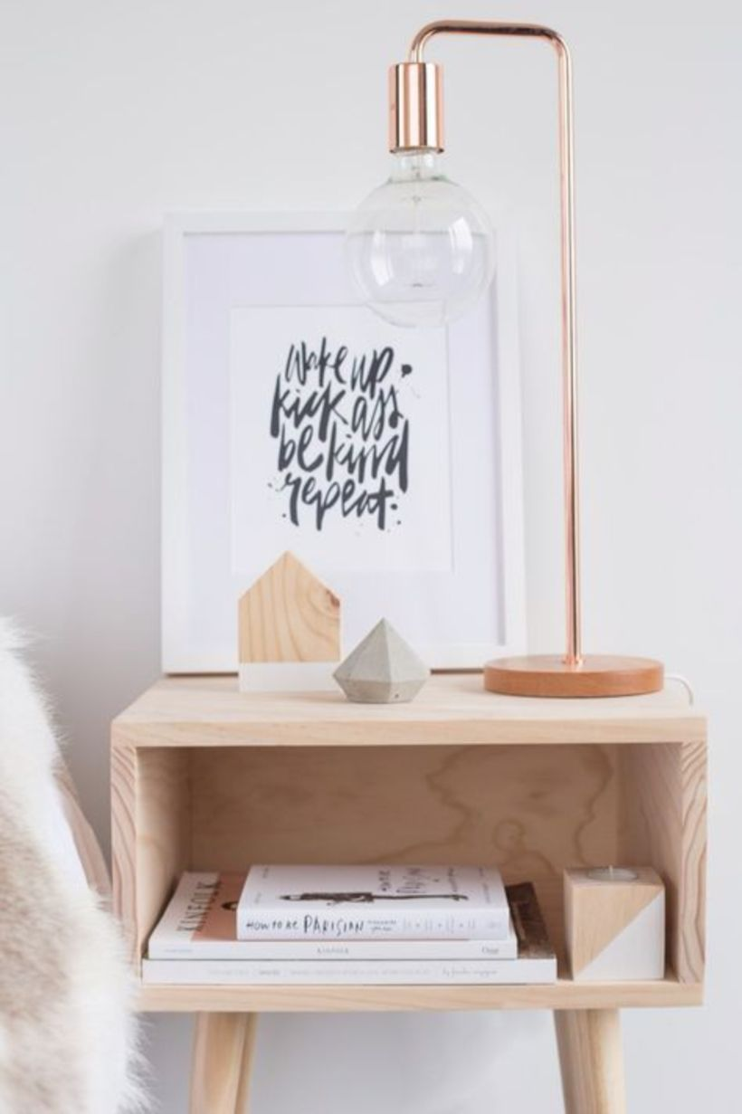 Cool 67 Minimalist Bedside Table Lamps Ideas To Makes Your Room Cozier Https