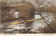 WARDEN MILL NORTHUMBERLAND UK NORTH TYNE~GIBSON & SON HEXHAM  PUBLISHED POSTCARD